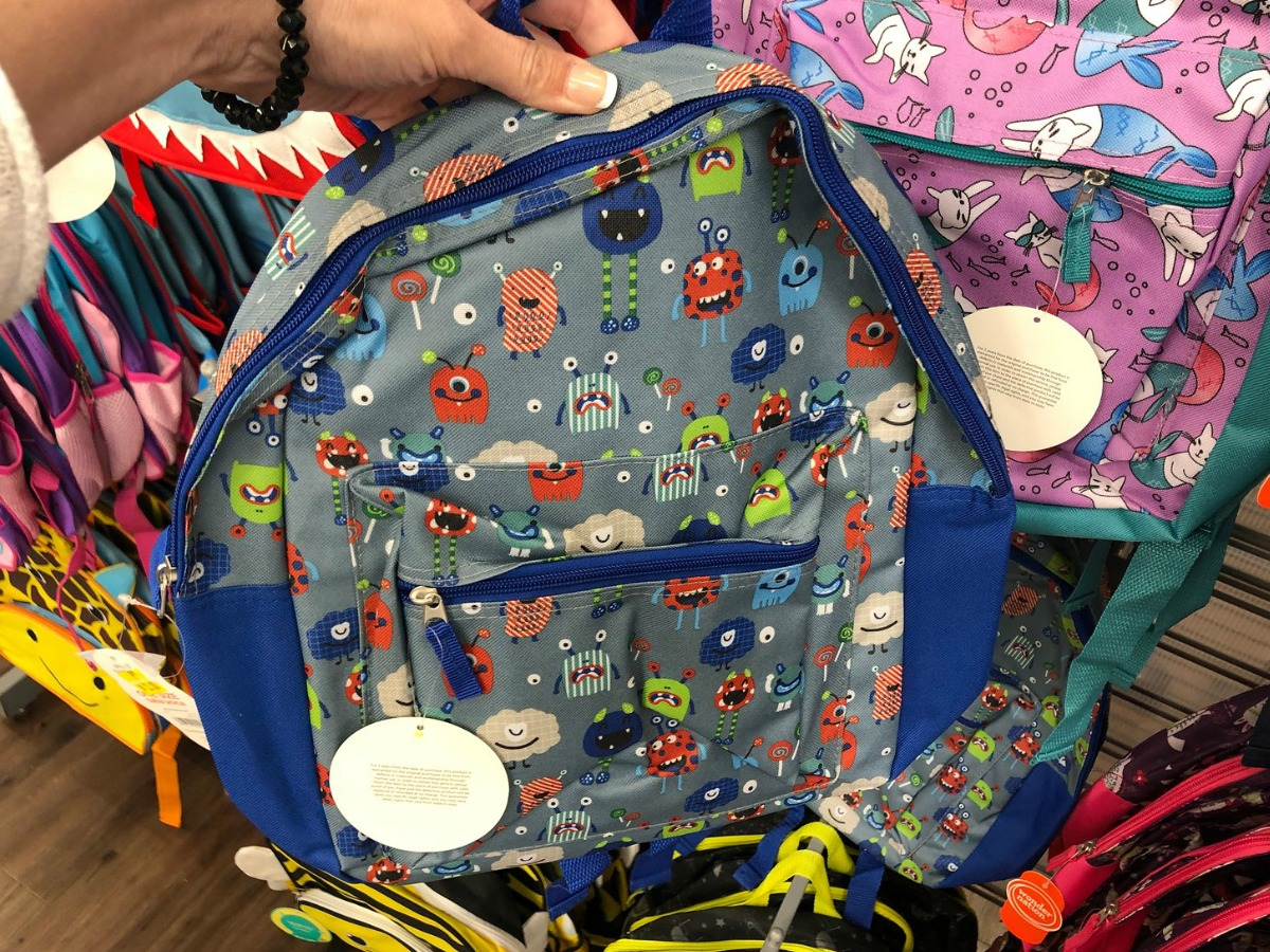 Clearance Monster Backpack at Walmart