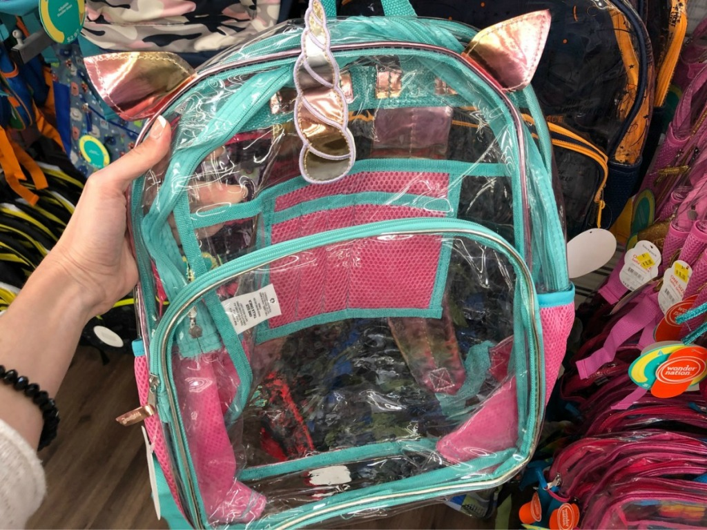 Clearance Unicorn Backpack at Walmart
