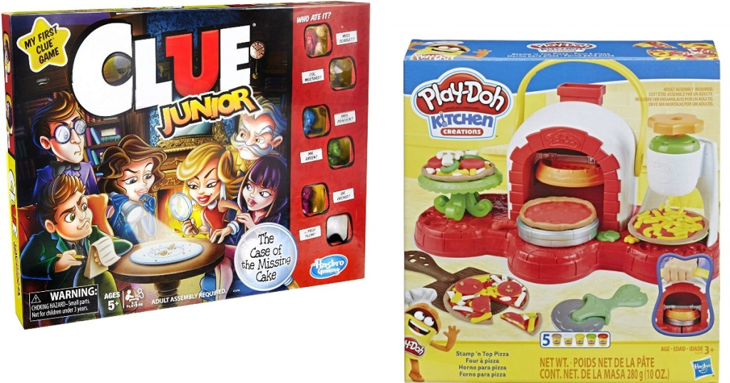Clue Junior and Play-Doh