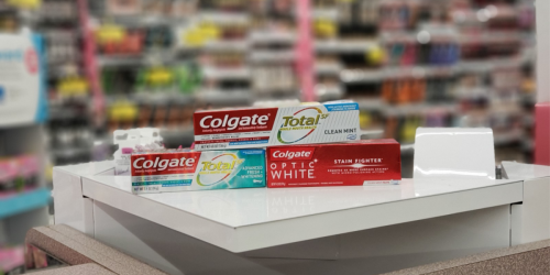 High Value $5/3 Colgate Toothpaste Coupon = Only 66¢ Each After Walgreens Rewards