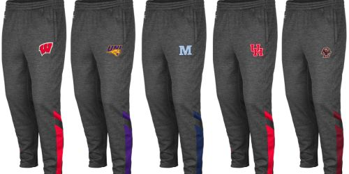 Collegiate Fleece Sweatpants Only $13.50 (Regularly $45) + Free Shipping for Kohl's Cardholders