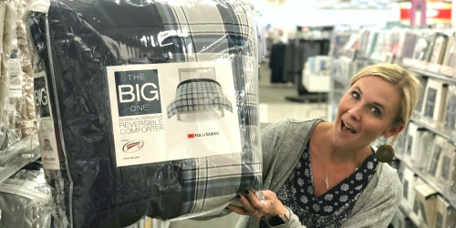 The Big One Down Alternative Comforter Only $21 at Kohl's (Regularly up to $120) | Available in ALL Sizes