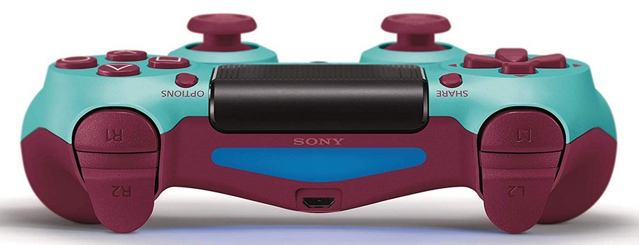 Front view of Dualshock Wireless Bluetooth Controller for PlayStation 4