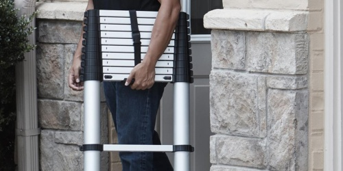 Cosco Telescopic Aluminum Extension Ladder Only $119.99 Shipped (Regularly $155)