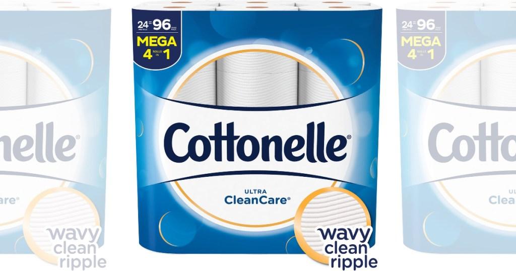 cottonelle cleancare toilet paper