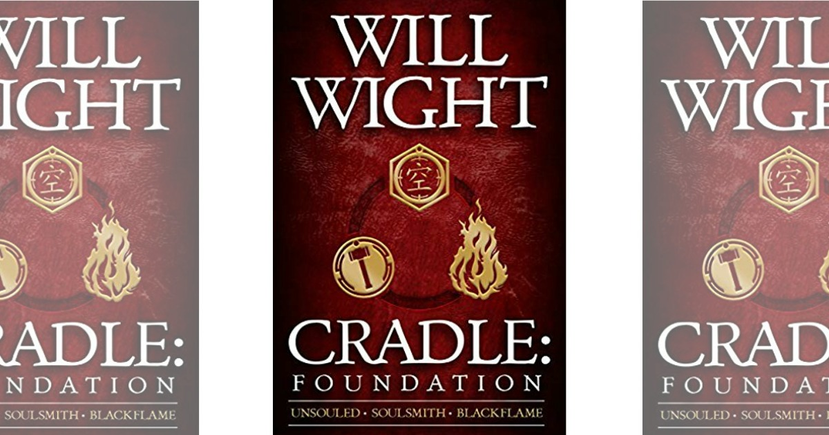 covers of Cradle, Foundation eBook Box Set