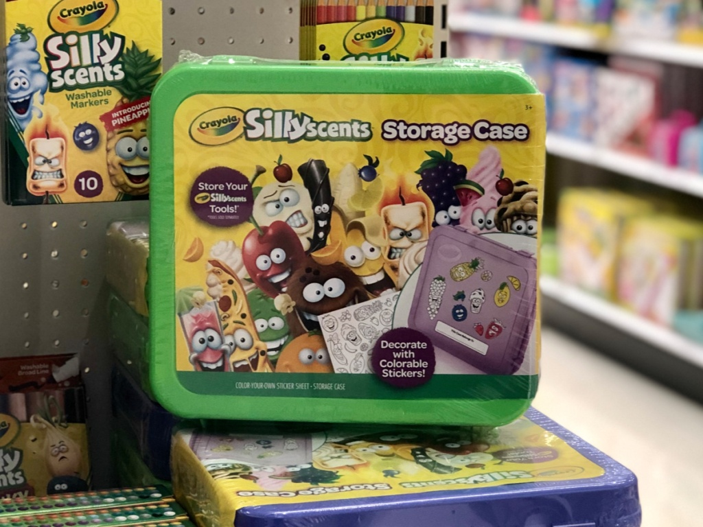 Crayola Silly Scents Storage Case at Target