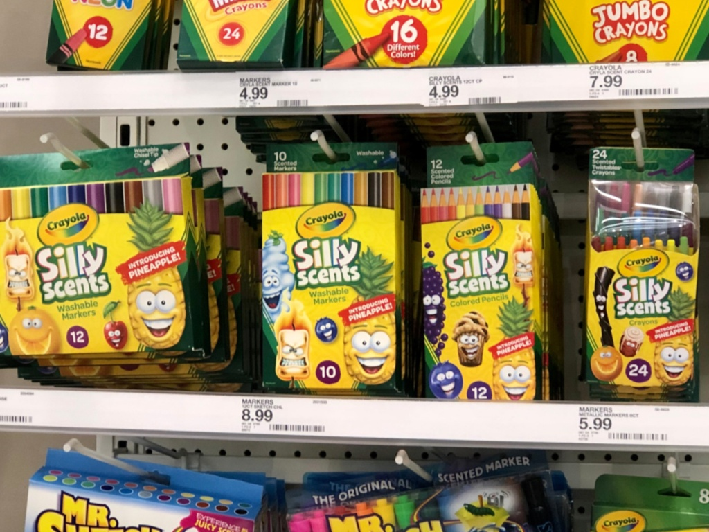 Crayola Silly Scents at Target
