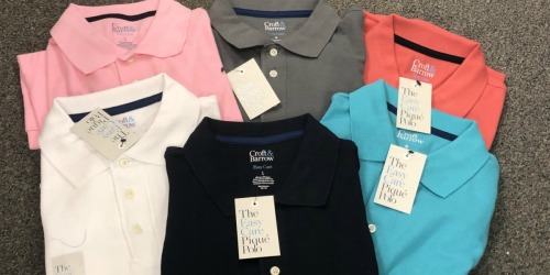 Croft & Barrow Men's Polo Shirts as Low as $5.83 Each Shipped at Kohl's