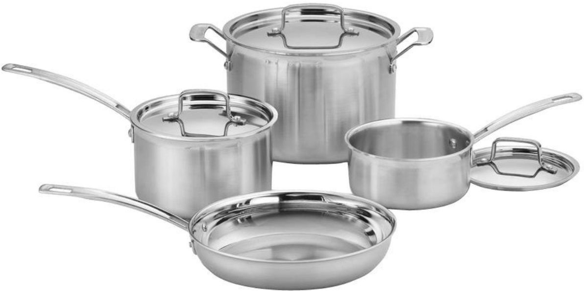 Cuisinart Multiclad Pro Stainless Steel Cookware Sets As