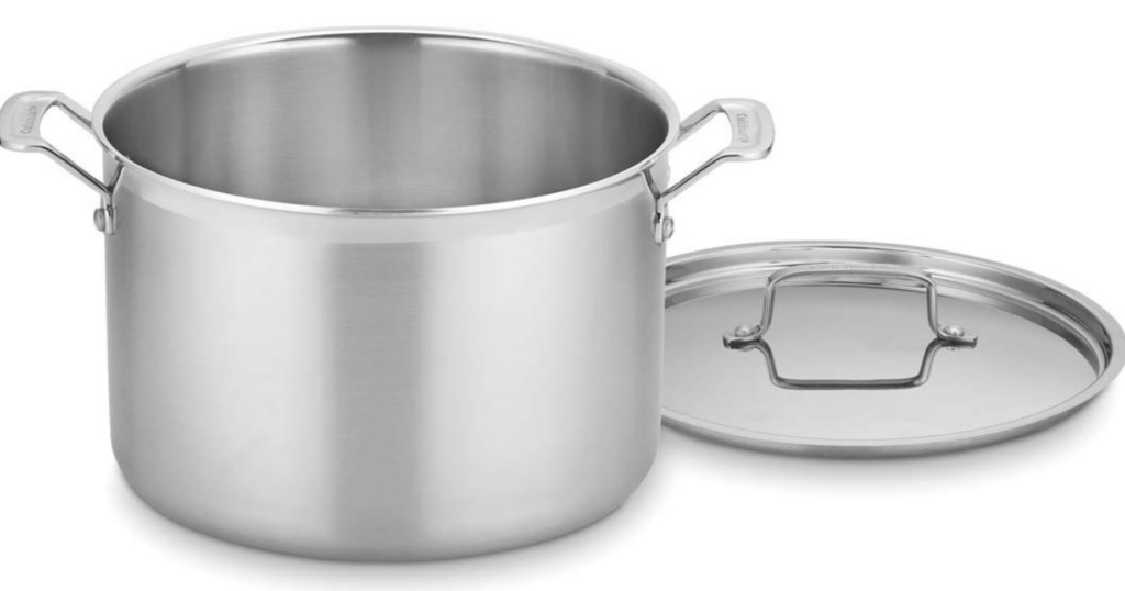 Cuisinart MultiClad Pro Triple Ply Stainless 12 Quart Stockpot with Cover