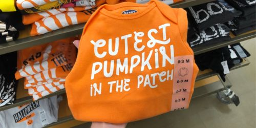 Old Navy Baby Bodysuits Only $3 | Halloween, Fall, & More