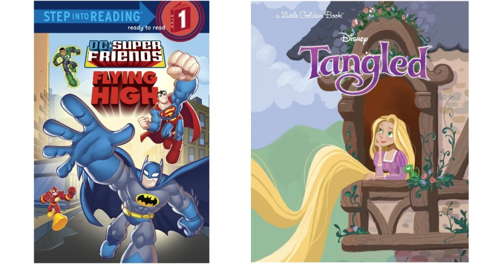 DC Friends or Tangled Books