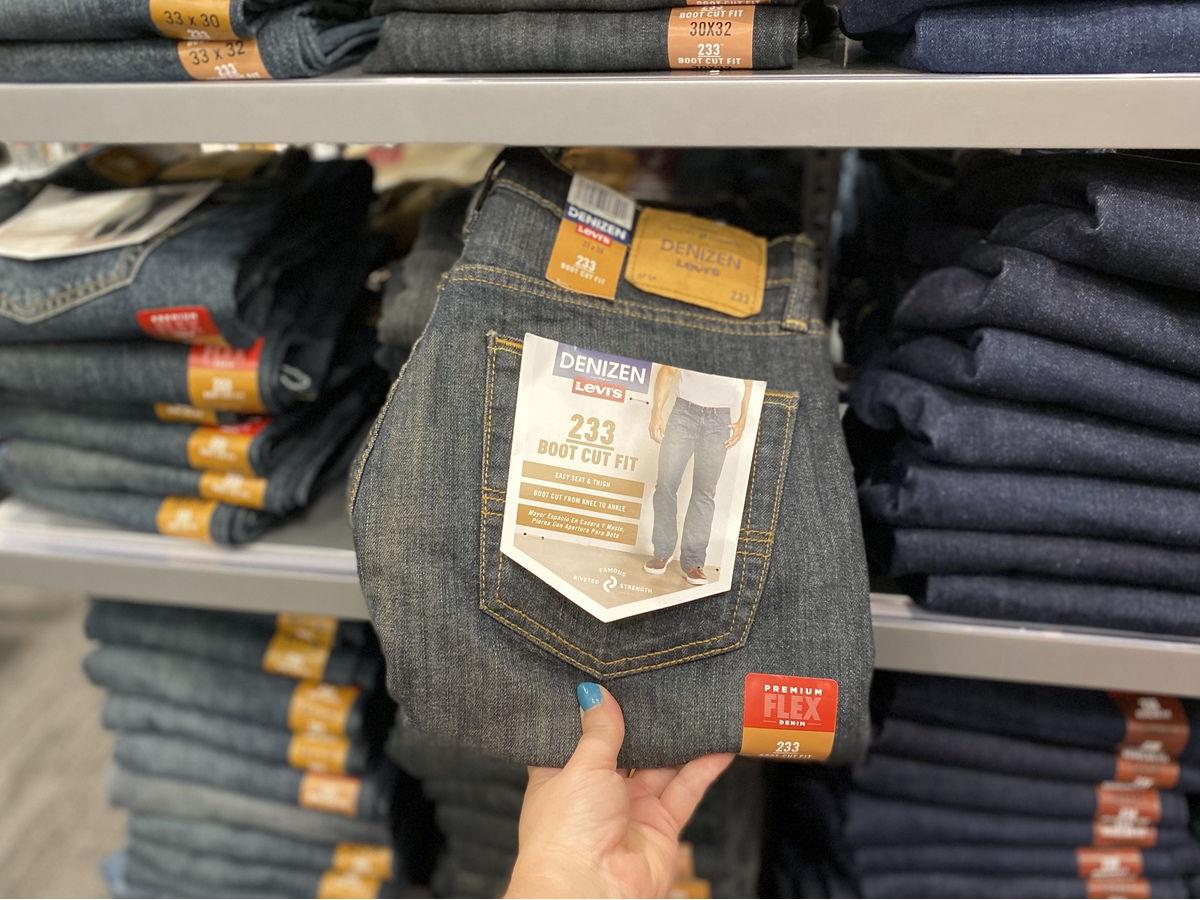 DENIZEN from Levi's Men's 233 Bootcut Fit Jeans