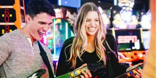 TWO Dave & Buster's All-Day Gaming Packages Only $20 (Regularly $70) – Select Locations