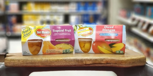 New Del Monte Coupons = Fruit Cup 4-Packs as Low as $1.20 Each at Target