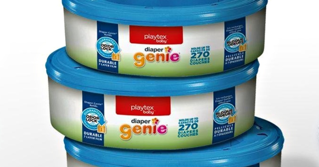 THREE Playtex Diaper Genie Refills Only $9.28 Shipped on