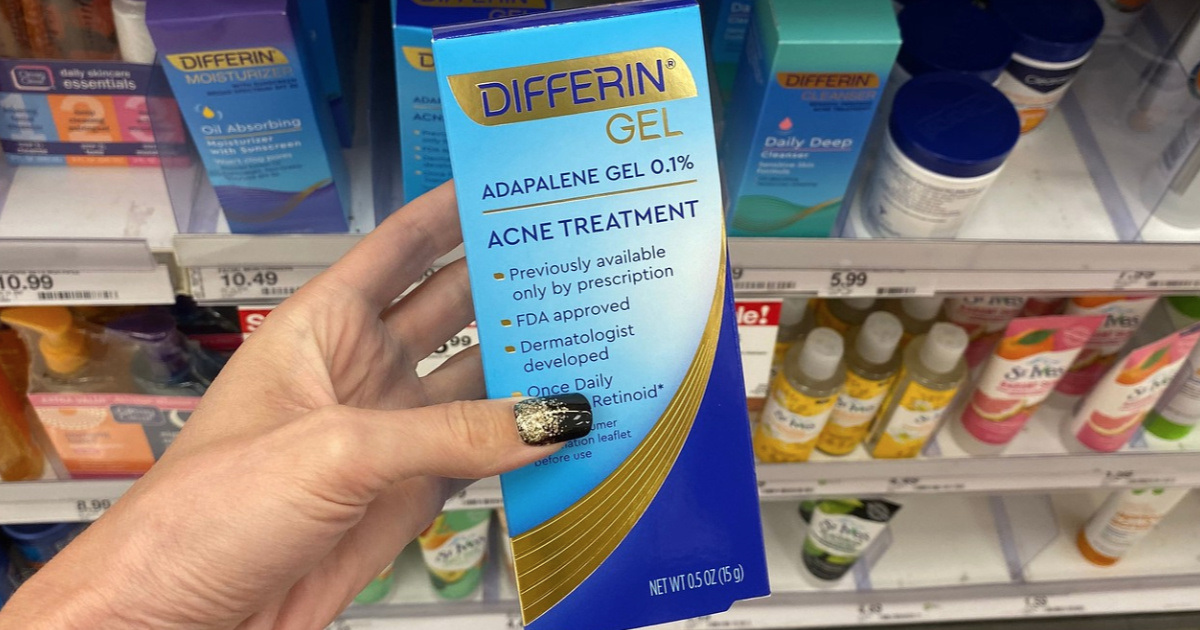 70 Off Differin Gel Acne Treatment After Cash Back At Target