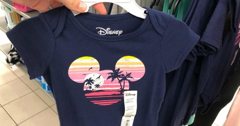 Disney Hawaii Graphic Bodysuit