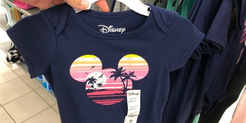Disney Baby Bodysuits or Tees as Low as $2 Shipped for Kohl's Cardholders (Regularly $12)