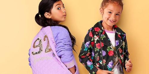 Up to 60% Off Disney Kids Jackets + Free Shipping