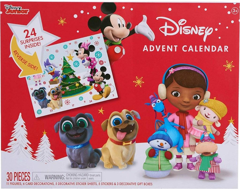 Disney Junior themed advent calendar with surprises