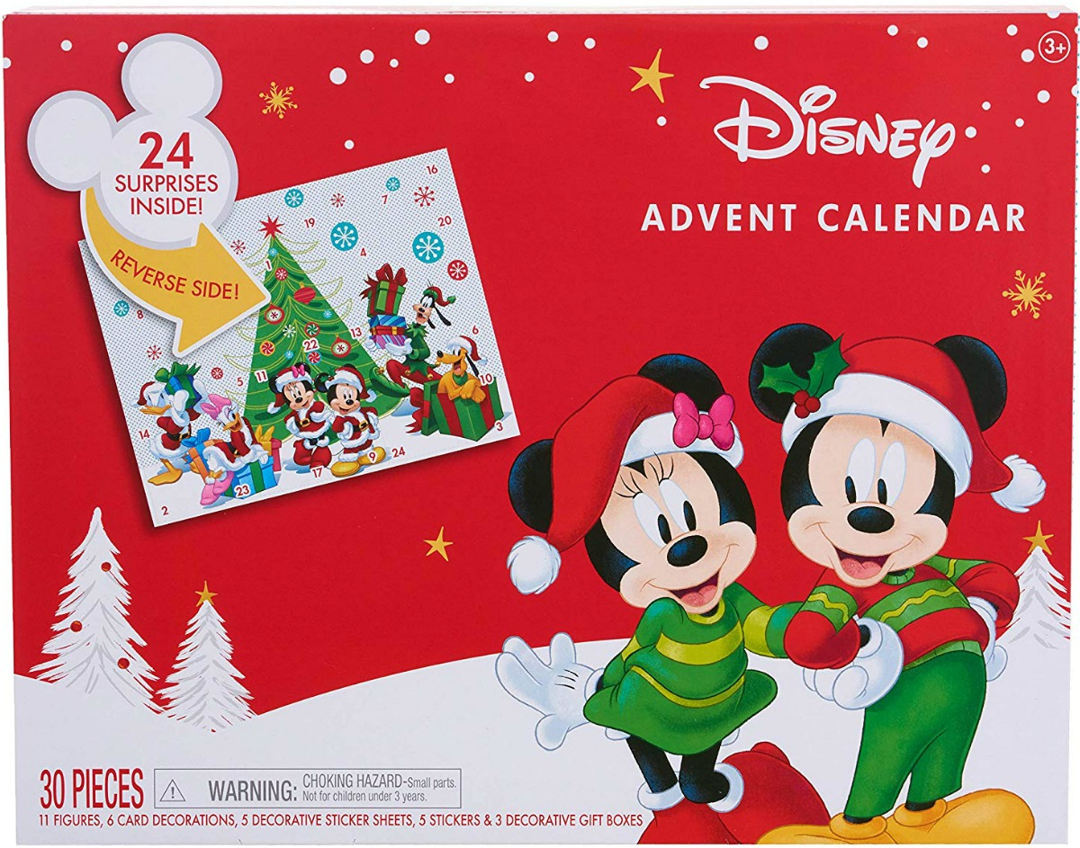 Mickey Mouse themed advent calendar