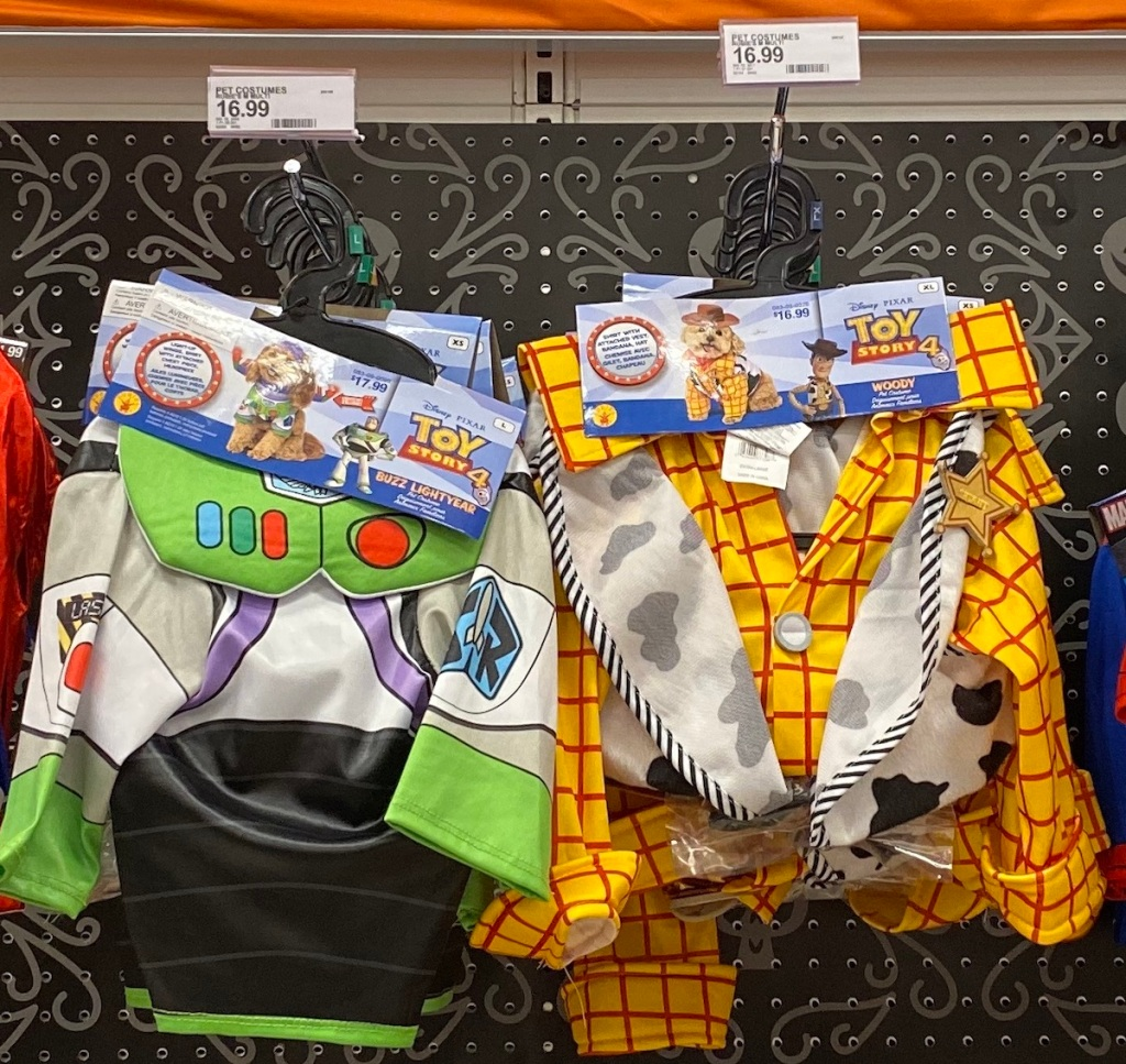 Toy story 4 dog costumes at target