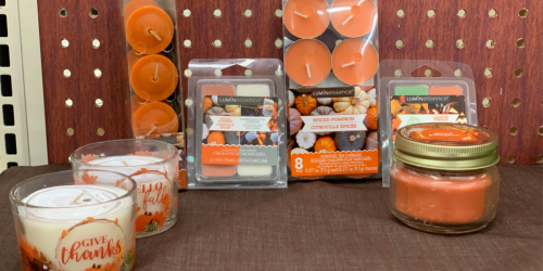 Spiced Pumpkin Candles & Wax Melts Only $1 at Dollar Tree