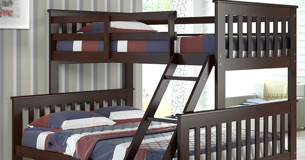 Donco Cappuccino Bunk Beds