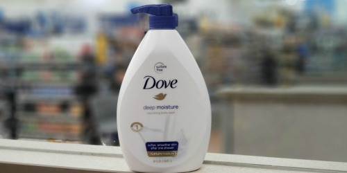 Dove Body Wash Bottles 34oz Bottles w/ Pump Only $6 Each Shipped on Amazon
