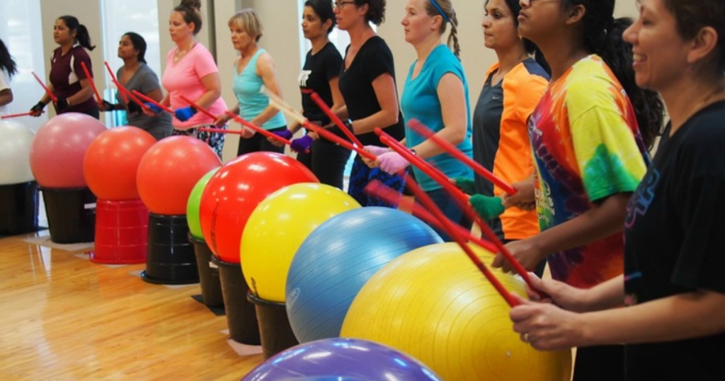 Drumba Fitness Class