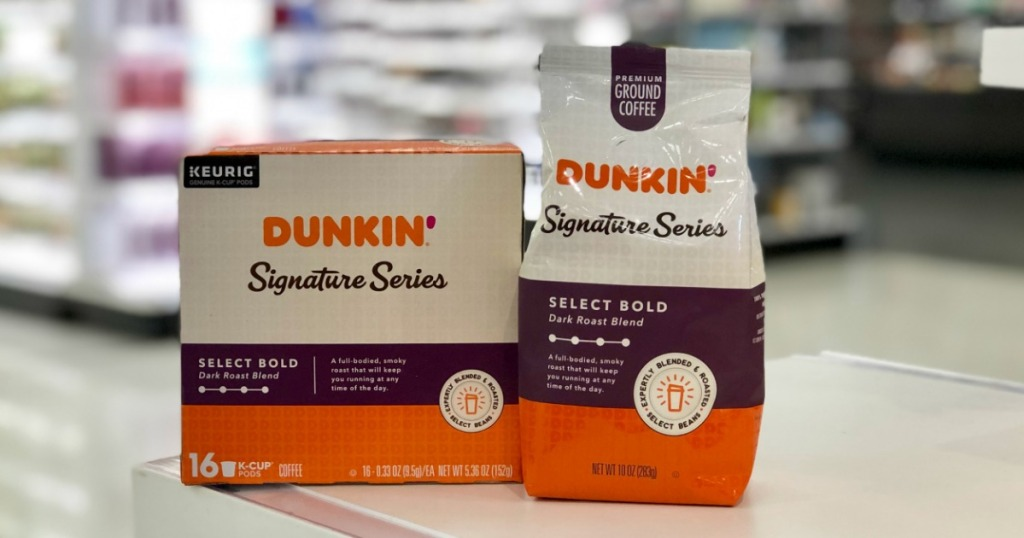 Dunkin Signature Series Coffees At Target