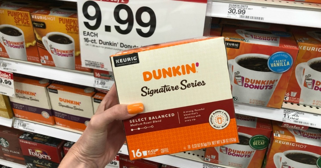 Dunkin Signature Series K-cups