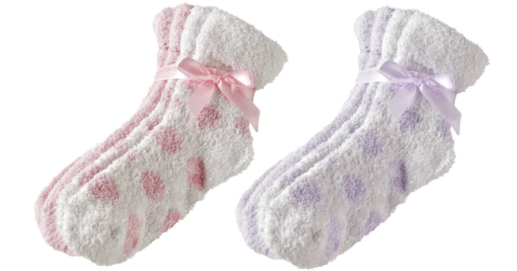 2 pairs of earth therapeutic socks