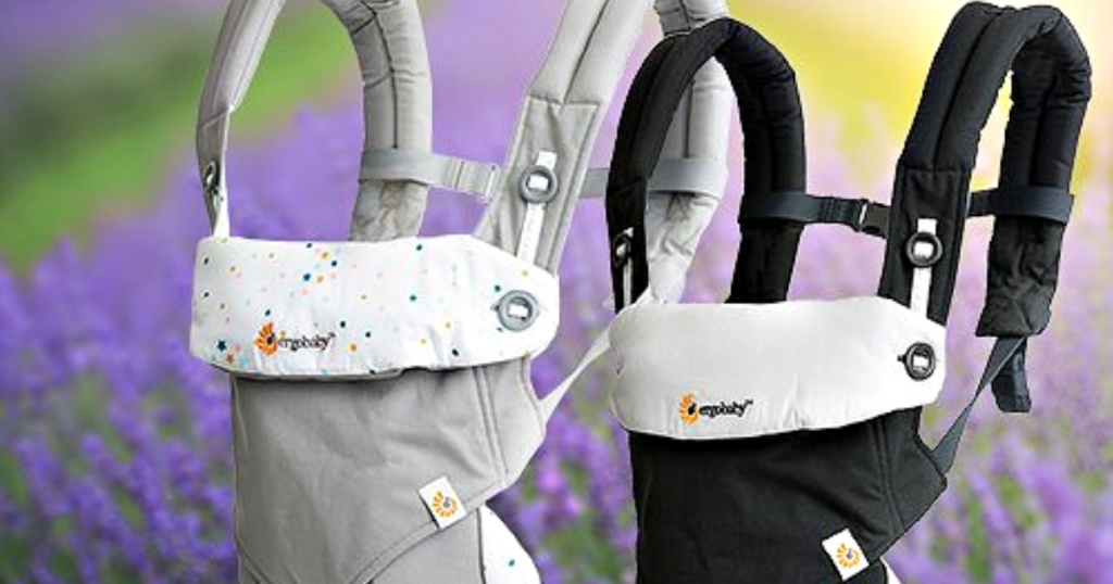 two ergobaby carriers