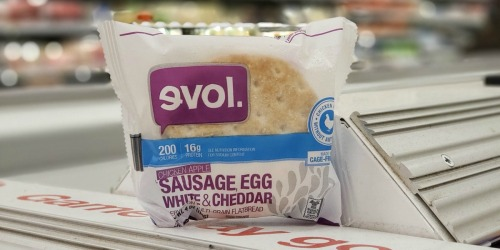 Evol Breakfast Sandwiches Only 79¢ at Target