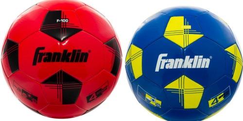 Up to 50% Off Franklin Sports Youth Soccer Balls at Walmart.com