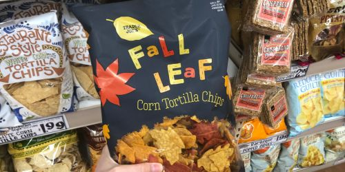 Enjoy Your Tortilla Chips in the Shape of Leaves with Fall Salsa at Trader Joe's