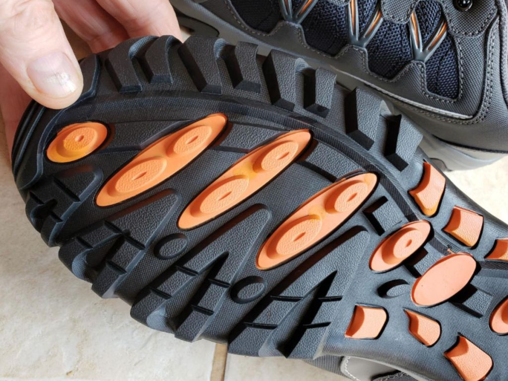 Fire Mens Work Shoes bottom of shoe