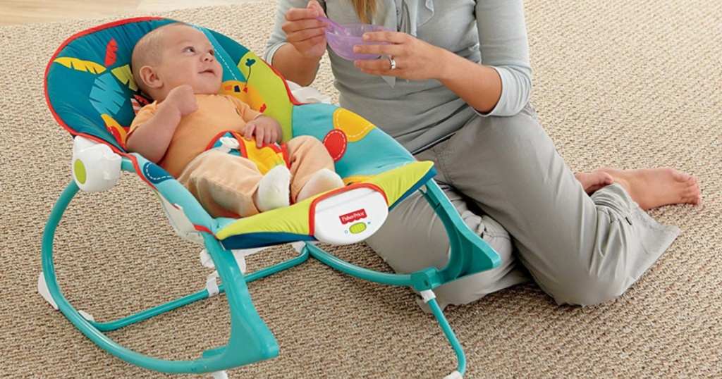 Fisher-Price Infant-To-Toddler Rocker Circus Celebration