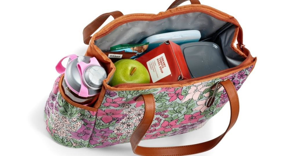Fit Fresh Pink Floral Lunch Kit