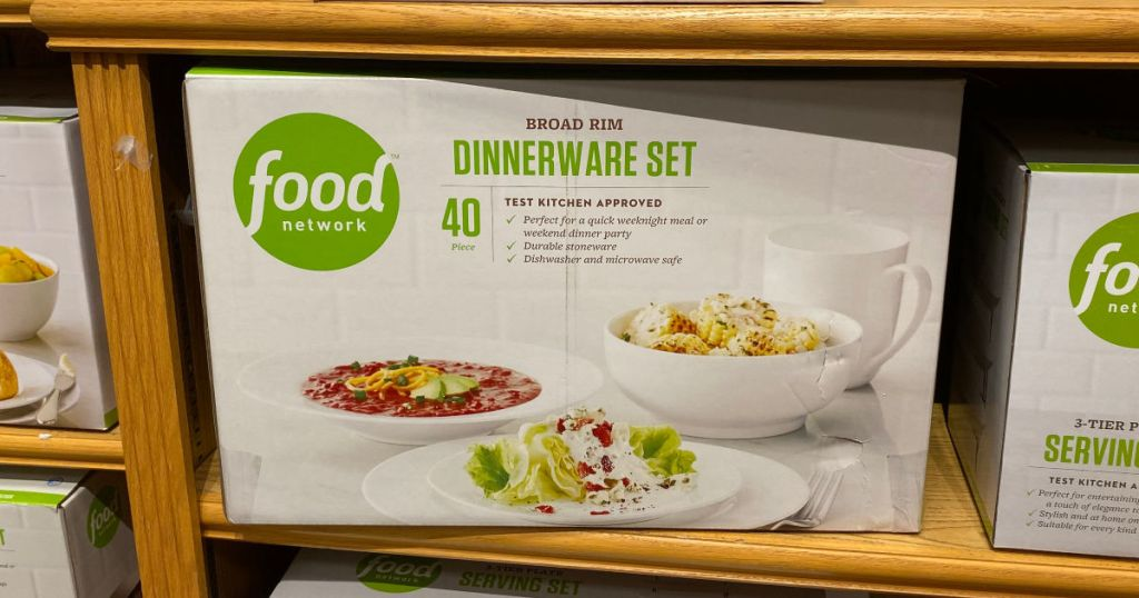 Food Network 40 Piece Dinnerware set