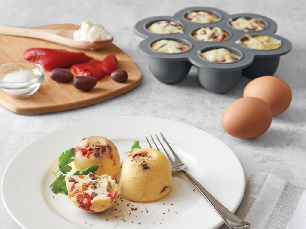 Food Network Egg Bites with Lid
