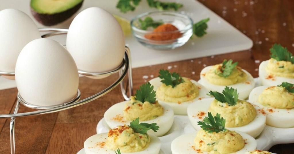 Food Network Egg Rack