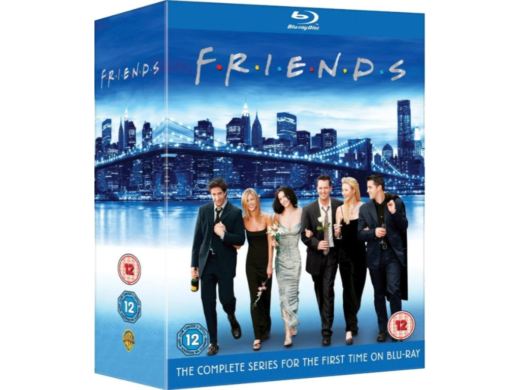 Friends Complete Series on Blu-Ray