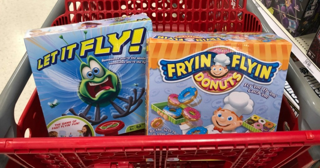 Fryin Flyin Game and Let It Fly Game in cart at Target