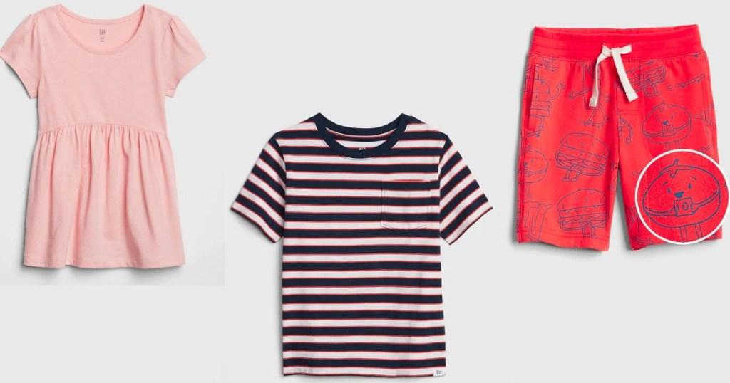 GAP Toddler Shirts and Shorts