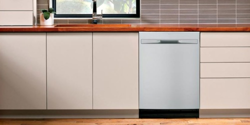 GE Built-In Stainless Steel Tall Tub Dishwasher Just $399 Shipped (Regularly $709)