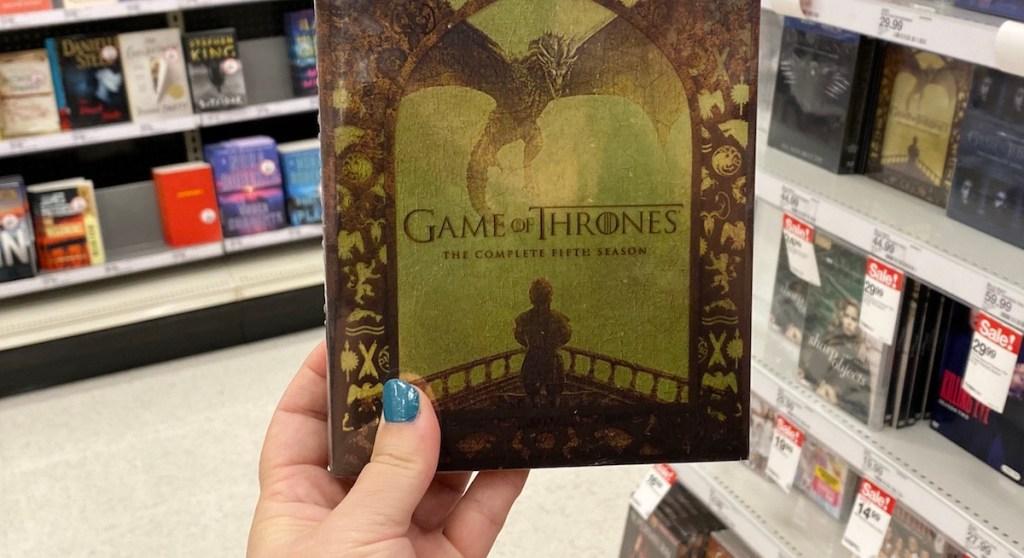 Game of Thrones 5th Season DVD